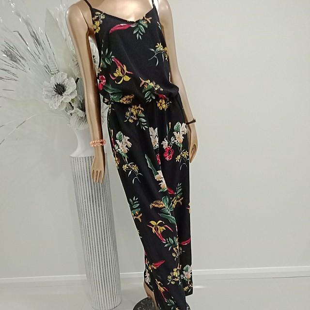 Pants suit floral M 🍀