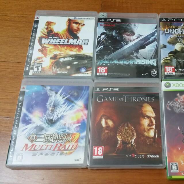 PS3 xbox360遊戲片全部1300含運隨便賣