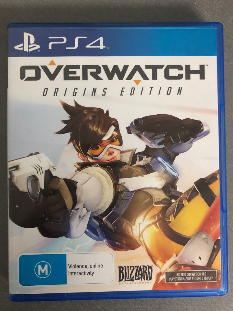 PS4 Overwatch Origins Edition, Video Gaming, Video Games on Carousell