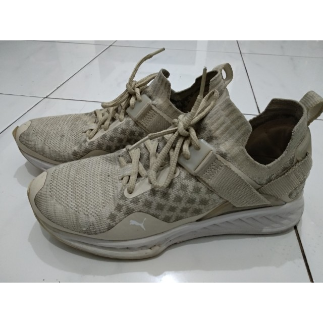 44a5f848b04b Puma Ignite Evoknit Trainers- Ignite Evoknit Low Pavement - Oatmeal - BNIB  Size EUR 38