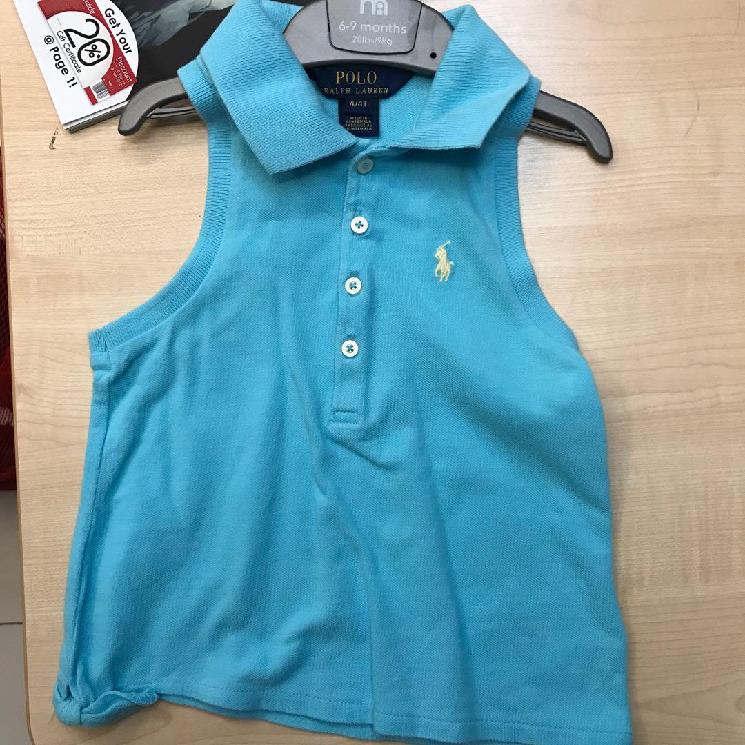 Ralph Lauren Girl's Polo