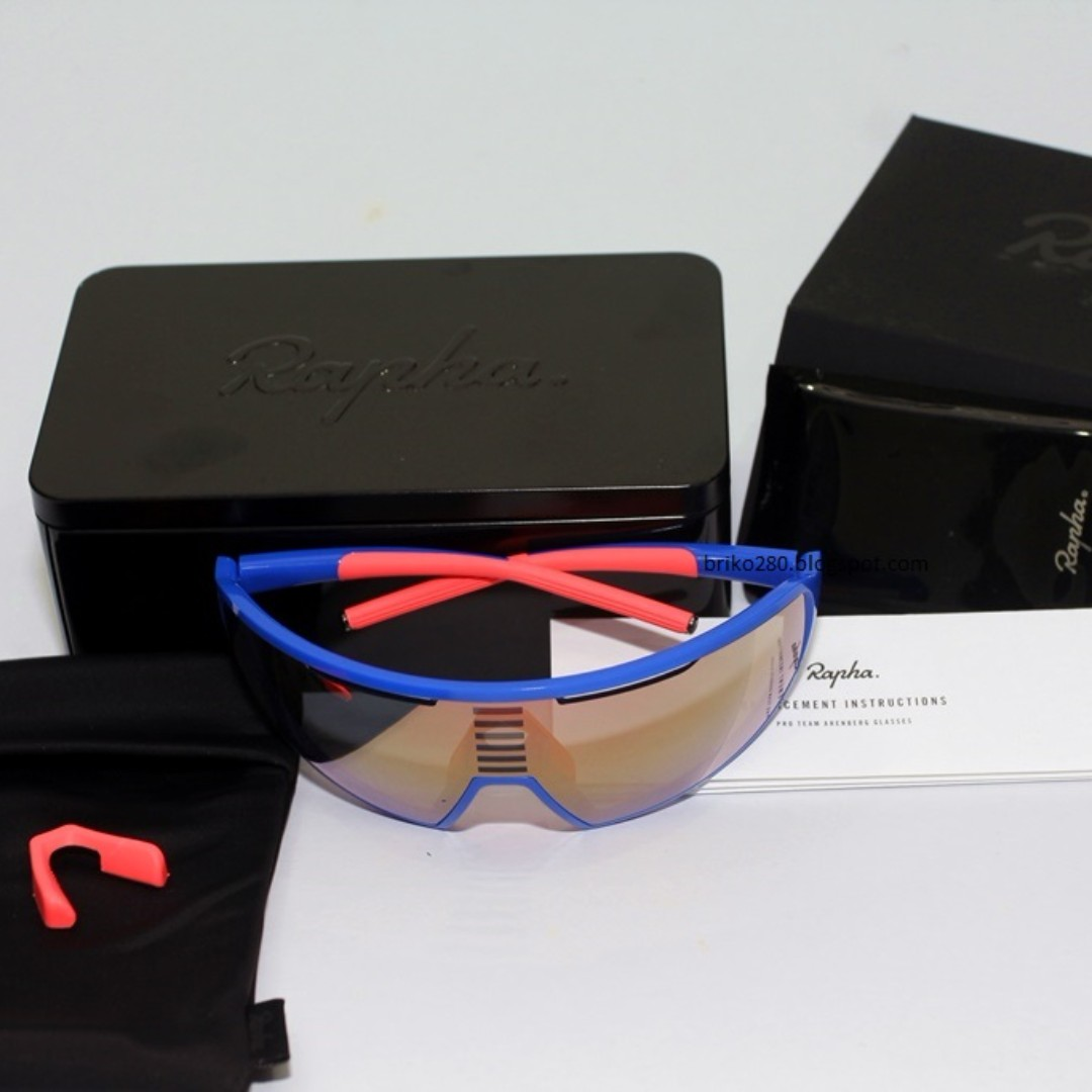144bad3f10a9 Rapha Pro Team Arenberg sunglasses, Sports, Bicycles on Carousell