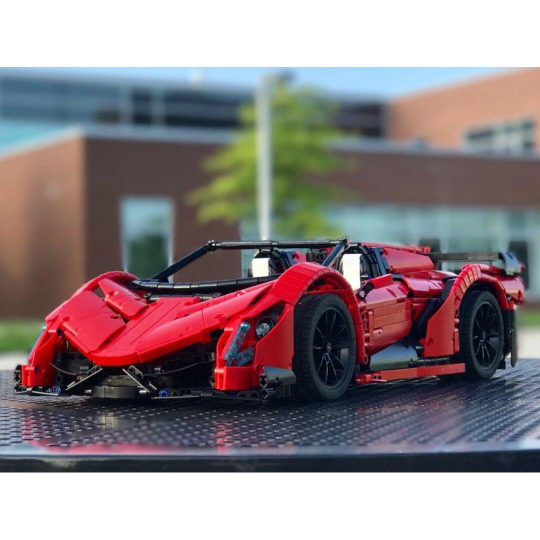 red lamborghini veneno roadster 50th anniversary lego. Black Bedroom Furniture Sets. Home Design Ideas
