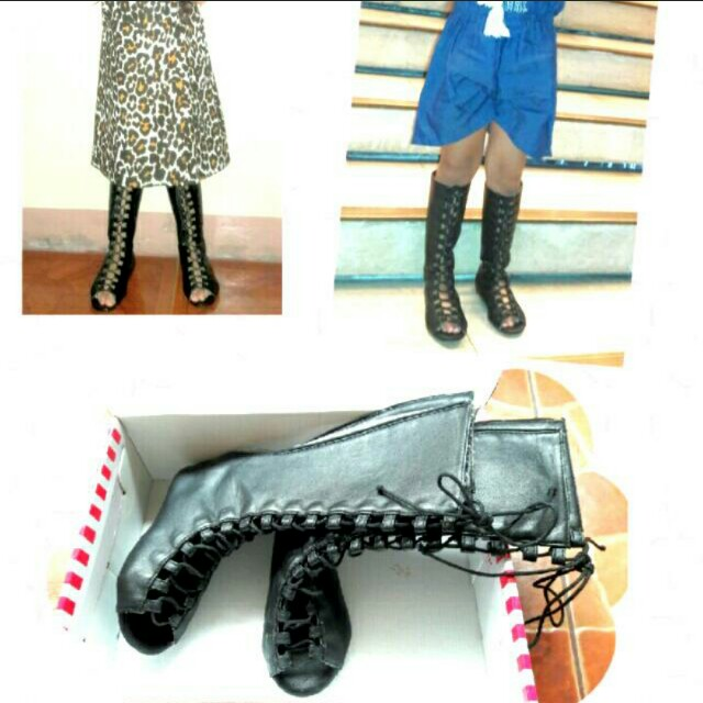REPRICED! Gladiator boots