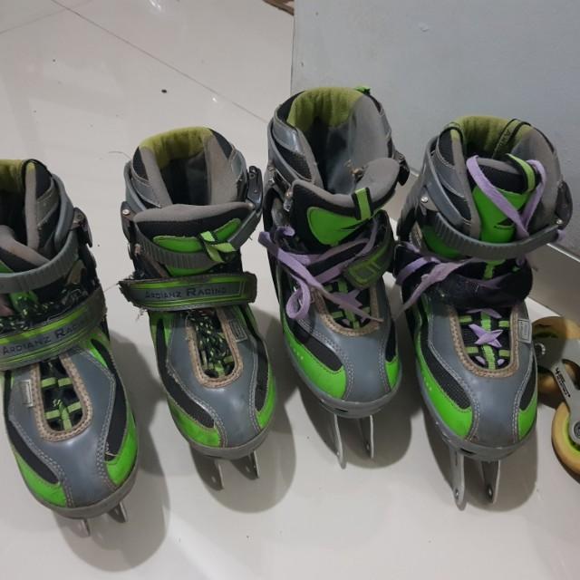 Sepatu roda, inline skate