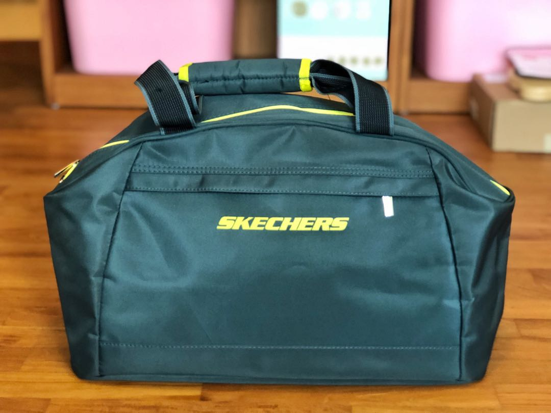 9062f82982f Skechers Gym Bag, Sports, Sports & Games Equipment on Carousell