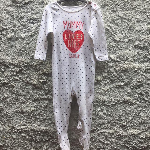 Sleepsuit Mothercare 9-12