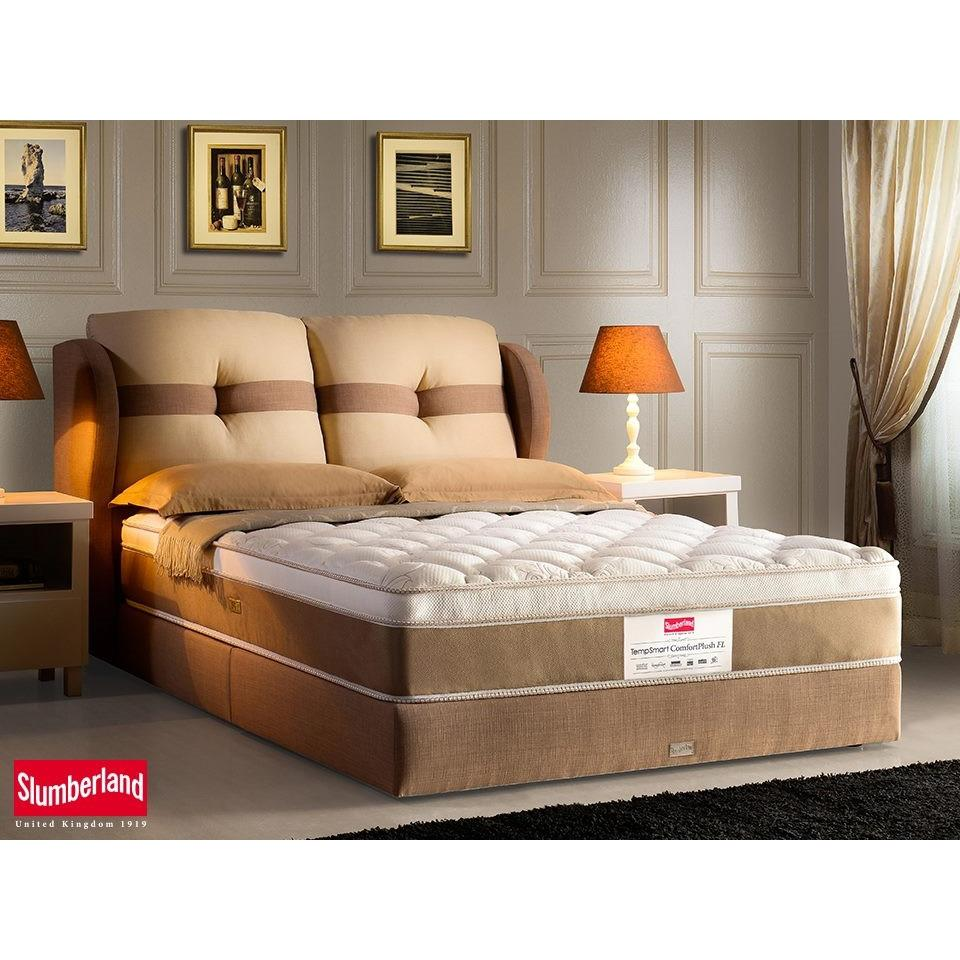Slumberland TempSmartTM Comfort Plush FL Mattress Brand New