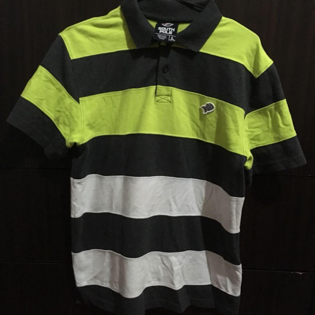 60e4213f27540 South Pole Stripes Polo Shirt