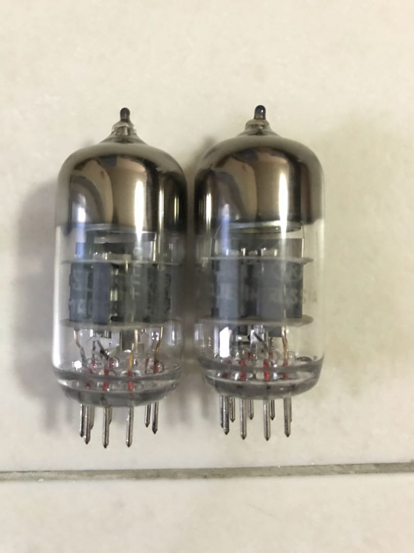 Sovtek 6922 matched pair, Electronics, Audio on Carousell