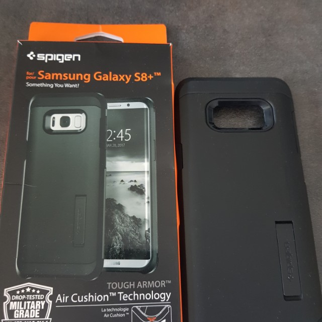 new style b7f83 30f9a Spigen Tough Armor S8 Plus Case