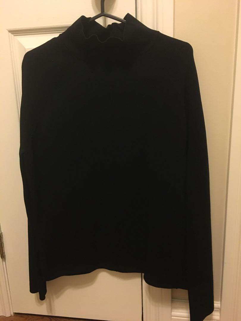 Topshop Mockneck Sweater - Size 4