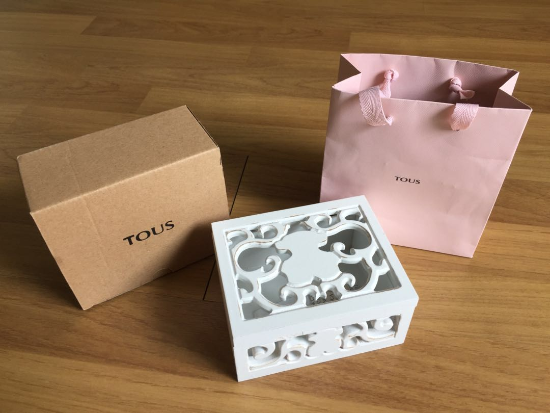 TOUS Jewelry Box limited edition Design Craft Handmade Goods