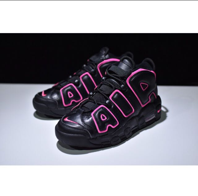 da4c6c539f86d7 ... georgetown lands next week 78ec1 47848  promo code for unisex nike air  more uptempo black pink womens fashion shoes on 3a79b 3edd0