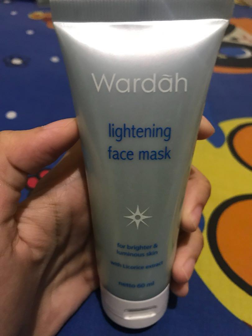 Wardah Lightening Face Mask Health Beauty Skin Bath Body On Carousell