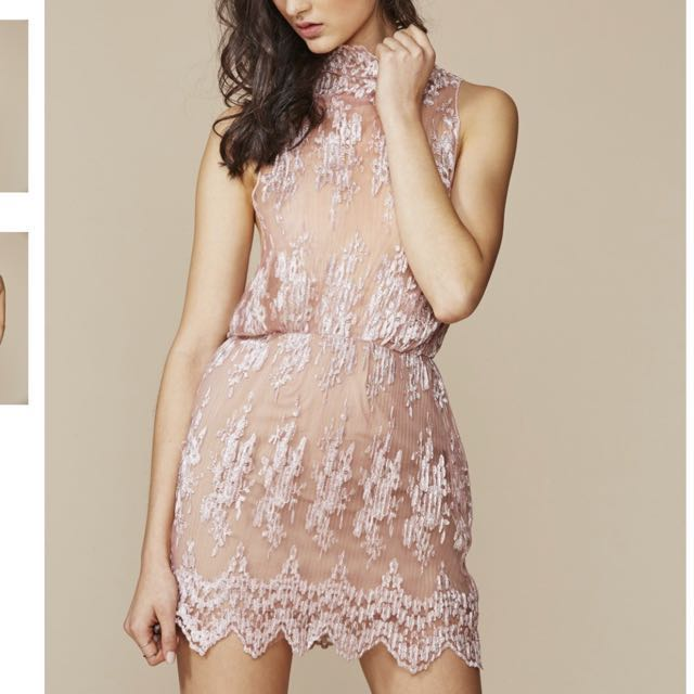 WINONA Pink Lace Dress RRP$279