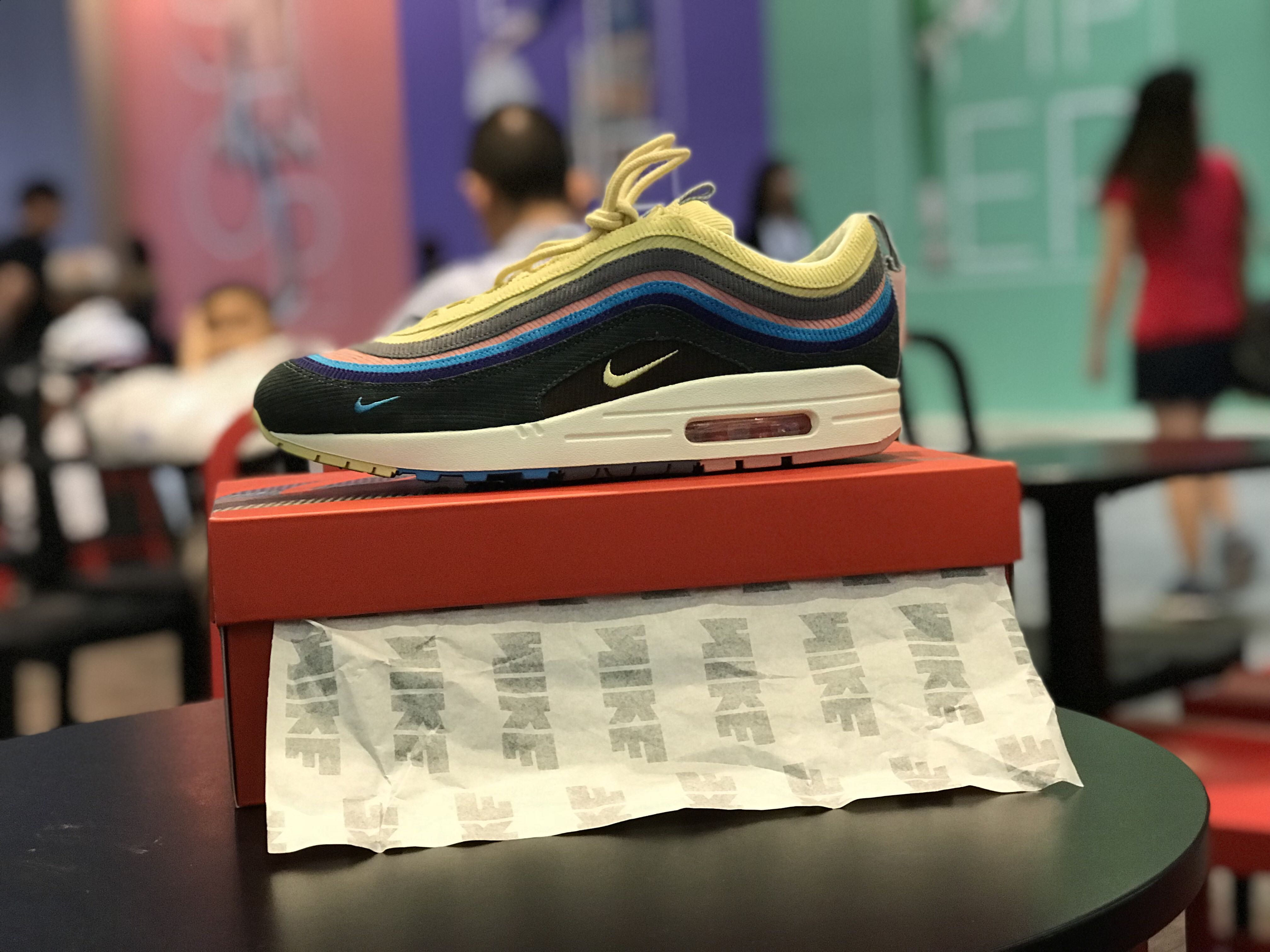 quality design a33c8 ed87d WTT US9.5 for 8.5 or 9 nike air max 1/97 sean wotherspoon ...