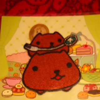 河豚君 Badge to sew on clothes