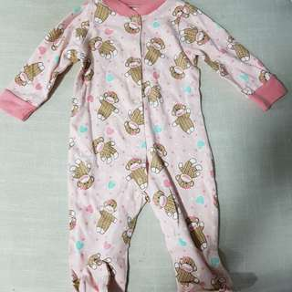 BN: Long sleeve onesie (pink) - 6M