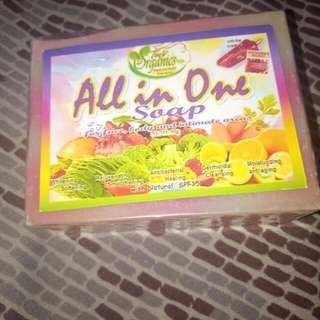 All in one soap