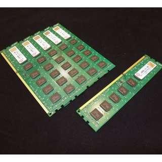 創見 Transcend 4GB DDR3 -1333 雙面顆粒 、終身保固 、測試良好的庫存備品、單支價$780