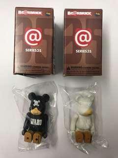 Medicom Toy Be@rbrick Series 35 Bearbrick Waru 東京暴族 連隱藏版