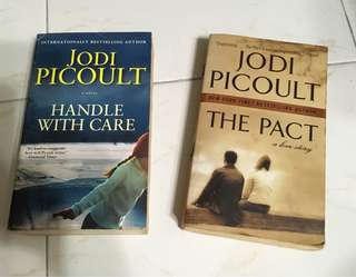 Jodi Picoult - The Pact, & Handle with care