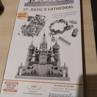 Iconix 3D metal modelkits St Basil Cathedral