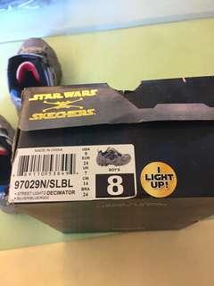 I Light Up Skechers Star Wars Shoes for Boys