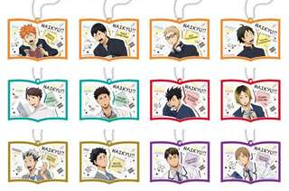 Haikyuu Rubber Strap Collection