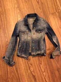 Zara 刷色牛仔外套