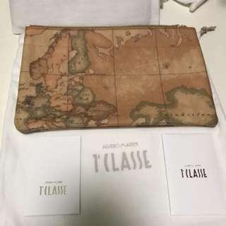 意大利alviero martini地圖袋