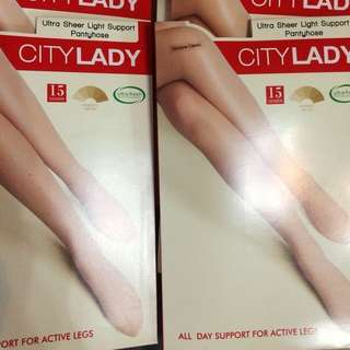 City lady Skin Tone stockings