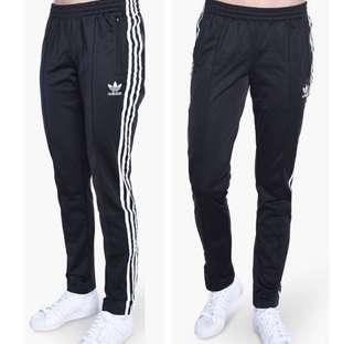 全新正品!Adidas 三線褲 拉鍊長褲