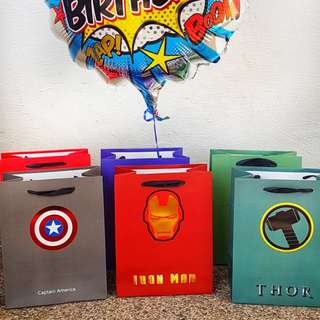 Superhero Goodies/Gift/Party Bags