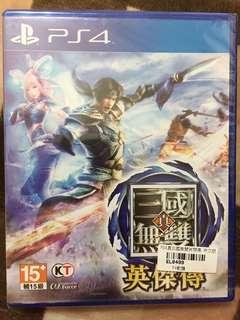 PS4 真三國無雙英傑傳「全新未拆」