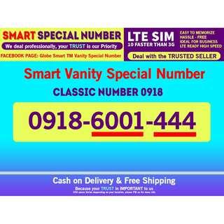 Smart Sim LTE Vanity phone Number