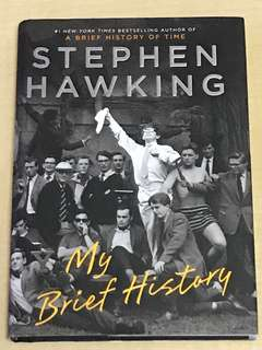 【Hard Cover】Stephen Hawking | My Brief History