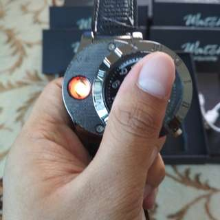 Usb watch lighter