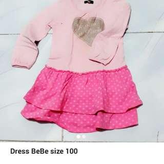 Dress Bebe size 100