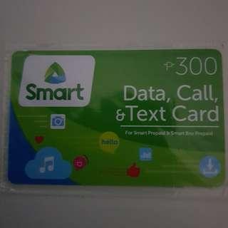 Smart Data , Call & Text Card P300