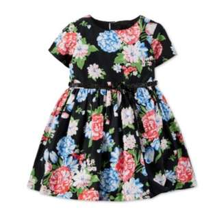 *5 yrs old* Brand New Carter's Floral Dress For Little Girl