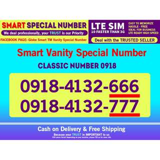 Smart Sim LTE Vanity phone Number