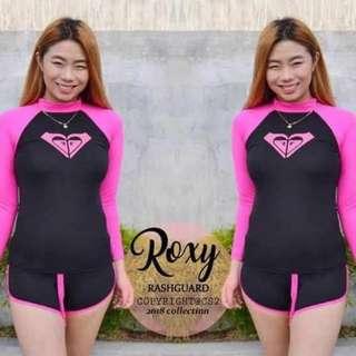 Roxy rash guards