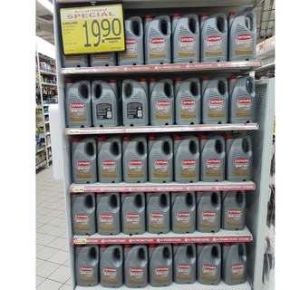 Carlube 5w40 Fully Synth Engine Oil 5L on Promotion!  Finally, the Promo is back @ FairPrice outlets!