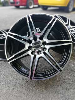 Work erdogan 16 inch sports rim ford fiesta. Kalau rasa nak trade in, i'm here guys.. say it to my face!!!