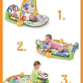 BABY TOYS KICK AND PIANO GYM