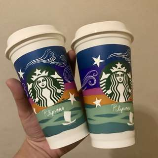 Starbucks 2018 Limited Edition Reusable Cups
