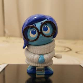 Disney Pixar Inside Out Sadness Wind Up tor by Tomy Tomica