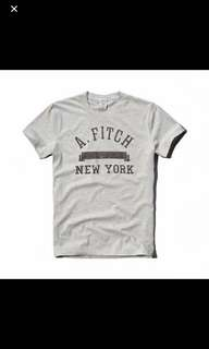 Authentic A&F tee